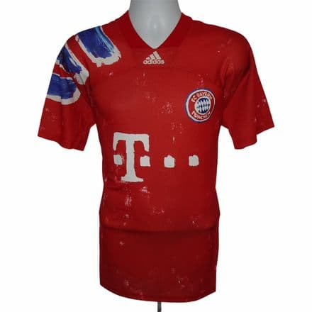 Bayern Munich Human Race Adidas Football Shirt Authentic Medium (BNWT)